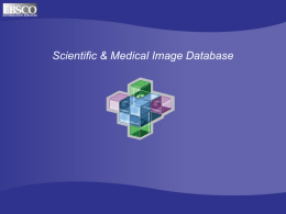 Scientific & Medical Image Database