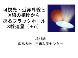 ブラックホールX線連星からの可視光変動現象