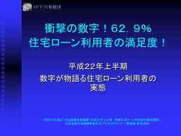 衝撃の数字!62.9%