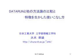 講演内容 - 日本工業大学