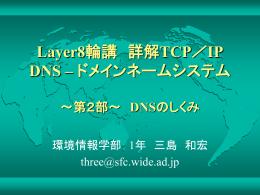 DNSメッセージ形式