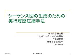 動的解析情報を利用したJavaプログラムからのシーケンス図の作成