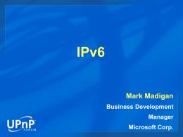 IPv6 への移行