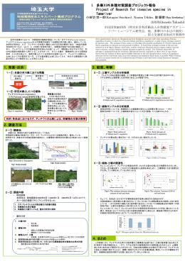 1,多摩川外来種対策調査プロジェクト