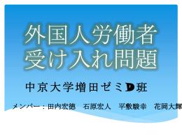 日本の外国人労働者の性質