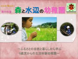 清川の里 森と水辺の幼稚園
