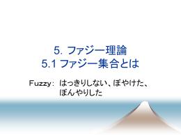 3.ファジー理論