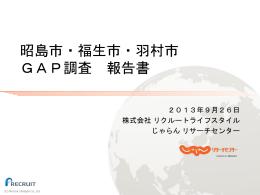 【      】 GPS調査報告書