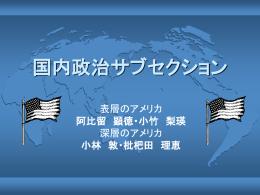 国内政治サブセクション - livedoor Blog