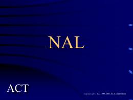 ネットワーク・スクリプト言語 NAL