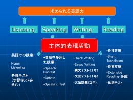 平成16年鳥取県立倉吉東高等学校 SELHi公開授業・研究協議