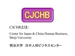 日中人材交流支援 ビジネス・プロジェクト