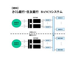 【添付資料】 さくら銀行・住友銀行 BANCSシステム