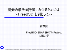 ppt - The FreeBSD Project