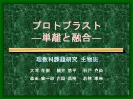 プロトプラストの単離と融合 - すいかサーバー (suika.fam.cx)