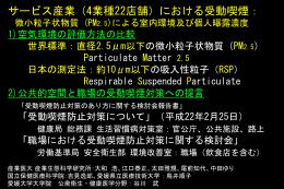 平成22年2月 日本禁煙推進医師歯科医師連盟第19回学術総会発表資料