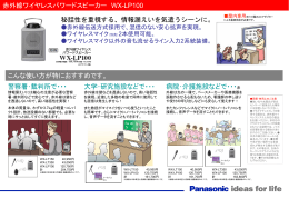 Panasonic ideas for life