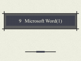 10 Microsoft Word(1)
