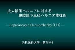 腹腔鏡鼠径ヘルニア - Hi-HO