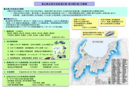 富山県企業立地促進計画(概要)