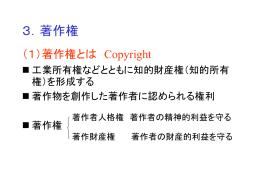 3.著作権