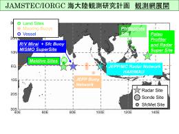 海大陸観測研究計画 平成18年度体制