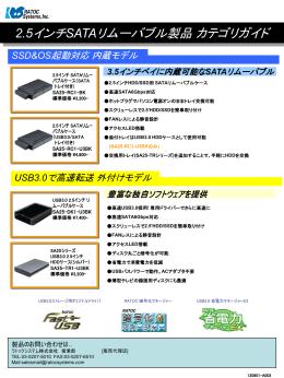 SA25シリーズ カテゴリガイド(PowerPoint)