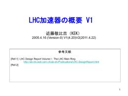 LHC計画の歴史 (1)