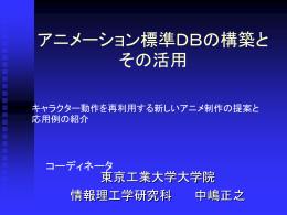 DCAjアニメ