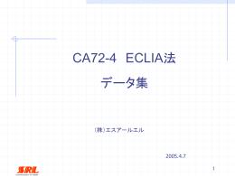 CA72-4はCA125と比較し、優れた結果が得られました。