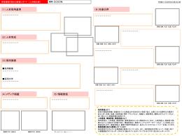 添付資料(人材強化)・作成フォーマット