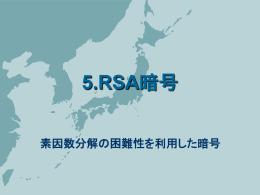 RSA暗号