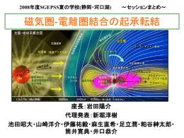 磁気圏-電離圏結合の起承転結