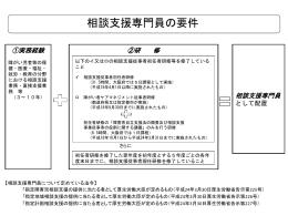 相談支援専門員の要件について [PowerPointファイル/297KB]