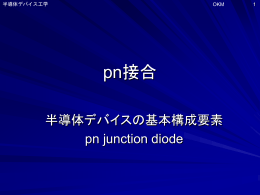 pn接合形成過程のパワポ