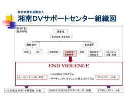 組織図 - 湘南DVサポートセンター
