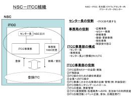NSC-ITCC組織