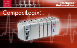 Slide 1 - Rockwell Automation