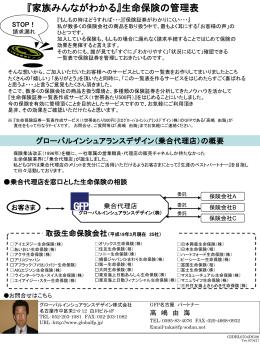 グローバルインシュアランスデザイン(乗合代理店)