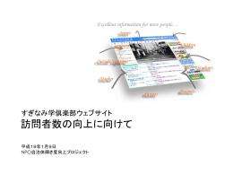 Google AdWords - NPO自治体輝き度向上プロジェクト
