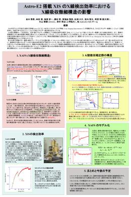 Namiki poster - 大阪大学X線天文グループ