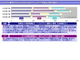 1. コンビニ業界 Media Complex Report ― 2009年度上半期の概況