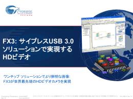EZ-USB® FX3