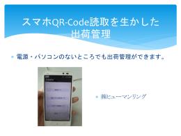 スマホQR-Code利用PPT版ご紹介