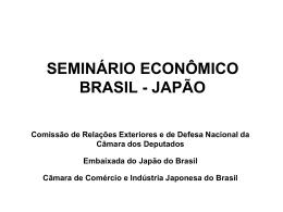 日伯経済セミナー - Câmara dos Deputados