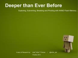 プロジェクト NandX