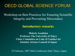 Science Council of Japan (SCJ)