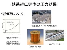 高圧力技術を用いた 鉄ニクタイド系超伝導体の研究