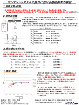 関連研究 紹介ポスター (ppt-201kB)
