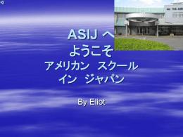 ASIJ Brochure